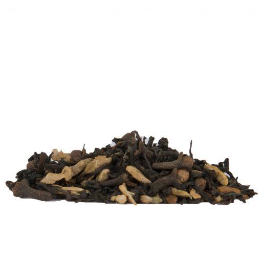 losse biologische zwarte thee chai